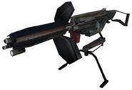 Emplacement gun