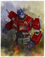 Optimus Prime First Gen (1980s)