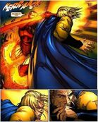 Iron Man punches Sentry