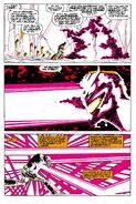 The Living Laser's Combat (Marvel Comics)