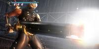Ninja-gaiden howling rifle