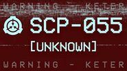 SCP-055 - Unknown