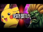 Pikachu VS Blanka (Pokémon VS Street Fighter) - DEATH BATTLE!