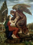 Evelyn De Morgan Depiction of Azrael
