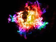 Rainbow flame by yutte007-d4oo35m