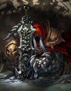 War (Darksiders) crouch