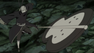 Obito Using Madara's Gunbai