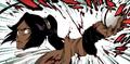 Yoruichi's arm twisted (Bleach)