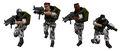 Half-Life Series HECU Soldiers