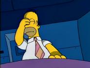Homer randomly pressing buttons