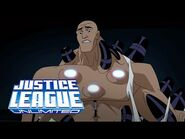 Brainiac appears in Lex Luthor´s body - Justice League Unlimited