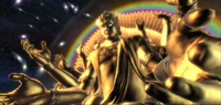 Cosmic Chakravartin