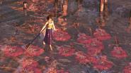 FFX HD Yuna Walks on Water