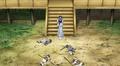 Kaguya subdue people into sleeping