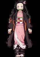 Nezuko anime design