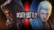 Sephiroth VS Vergil (Final Fantasy VS Devil May Cry) DEATH BATTLE!