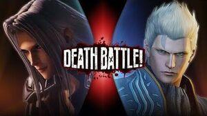 Sephiroth VS Vergil (Final Fantasy VS Devil May Cry) DEATH BATTLE!