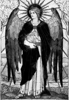 Archangel Uriel by Tarayue