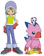 Digimon Sora and Biyomon