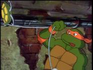 Michelangelo's grappling hook