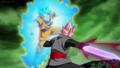 SSR Black Fierce Violent God Slicer vs SSB Goku