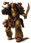 Plague Marine Warhammer 40K