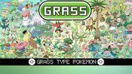 Grass type Pokémon