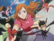 Orihime Inoue and the Shun Shun Rikka