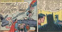 Composite Superman (DC Comics) blast the batjet