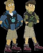 Martin & Chris (Wild Kratts)