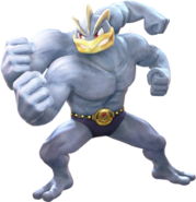Pokkén Machamp