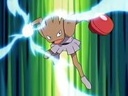 Hitmonchan Mach Punch charging
