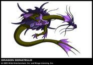 Donie as Dragon