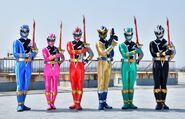 Dino Fury Rangers