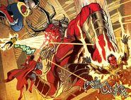 Trigon (DC Comics) fights
