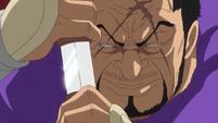 Fujitora Unsheathing His Blade