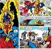 Ghost Rider Vs Thor