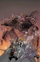 Todd Ziller - American Kaiju (Marvel Comics) New Avengers Vol 4 9 Textless