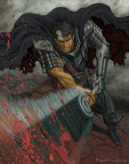 Guts, the Swordsman of the Dark (Berserk)
