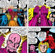 Marvel Comics Kro Malleable Anatomy