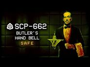 SCP-662 - Butler's Hand Bell 🔔 - Safe - Teleportation SCP-2