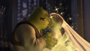 Shrek Fiona kiss