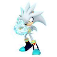 (Future) ESP Silver The Hedgehog Render