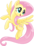 MLP The Movie Fluttershy official artwork