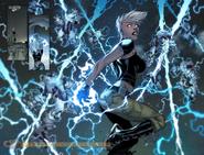 Storm lightning dance