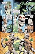Intangibility Combat & Telepathic illusion by Martian Manhunter