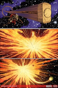 Thor Knocks Out The Phoenix Force