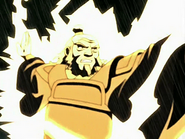 Iroh redirects lightning Avatar