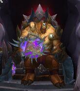 Cho'gall on Throne