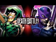 Green Arrow VS Hawkeye (DC VS Marvel) - DEATH BATTLE!
